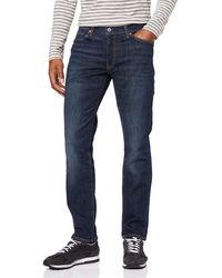 Levi's 511 Slim Fit – Jeans pour hommes à coupe ajustée avec - Bleu