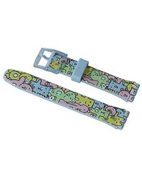 Swatch Armband 17mm Snuggle Bunch AGS136 - Mehrfarbig