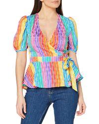 FIND Top Cruzado Mujer - Multicolor