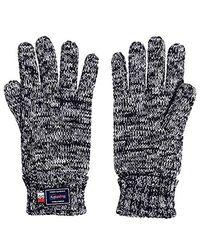 Superdry Stockholm Glove Mariner Blue Twist