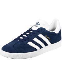adidas Gazelle, Baskets Mixte Adulte - Bleu