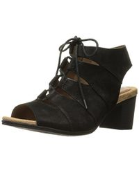 Cobb Hill - Rockport Hattie Laceup Heeled Sandal - Lyst