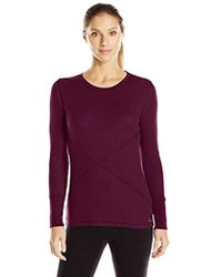 CALVIN KLEIN 205W39NYC - Performance Waffle Knit Tee - Lyst