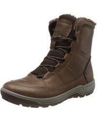 Ecco Trace Lite Hydromax Mid Boot - Brown
