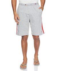 Tommy Hilfiger Jersey Panel Short Boxer - Gris