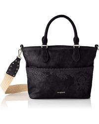 Desigual PU Hand Bag - Noir