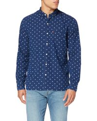 Levi's Sunset 1 Pocket Shirt Camisa - Azul