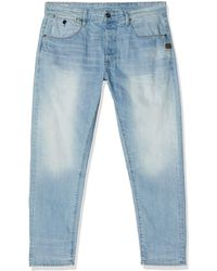 G-Star RAW Loic Relaxed Tapered Vaqueros - Azul