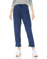 Pepe Jeans Donna Blue Jean Droit - Bleu