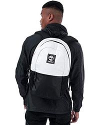 Timberland S Recover Classic Backpack In White- 20l Capacity- Internal Sleeve