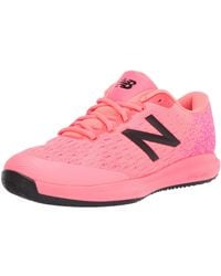 New Balance 996v4 Hard Court Tennis Shoe - Rose
