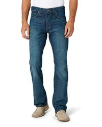 Levi's 527 Slim Boot Cut Jeans - Blu