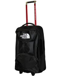 The North Face Accona 26 Carry-Ons Luggage Travel Rolling Bag RTO - Noir