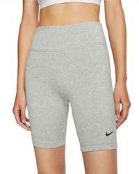 Nike Leg-A-See Shorts - Grau