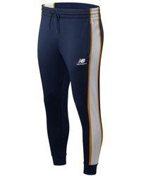 New Balance Pantalon NB Athletics Track - Blau