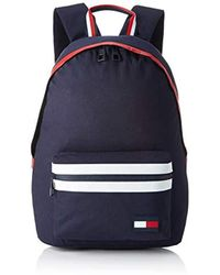 Tommy Hilfiger Herren Tommy Backpack Pop Rucksack, Blau (Corporate), 15x43x30 cm