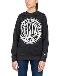 Replay Longshirt Sweatshirt - Black