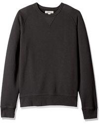 Goodthreads Crewneck Fleece Sweatshirt - Negro