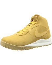 Nike Hoodland Suede Desert Boots - Gelb