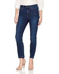 NYDJ - Clarissa Ankle Jean With Released-hem Treatment - Lyst