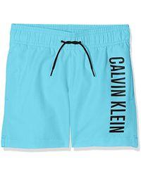 Calvin Klein Pantalones de Pijama para Niños - Azul