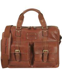 Tommy Bahama - Satchel Shoulder Bag For Large Bookbag With Padded Laptop - Lyst
