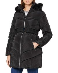 Dorothy Perkins Black Long Lux Padded Jacket