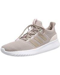 promo code c7799 e5f42 adidas - Cloudfoam Ultimate Running Shoes, Vapour Greyice Purple, 8.5 Uk 42