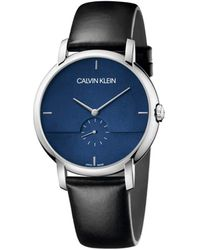 Calvin Klein Reloj de Vestir K9H2X1CN - Negro