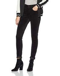 G-Star RAW Damen 3301 High Waist Skinny Colored Jeans - Schwarz