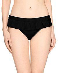 Kenneth Cole Reaction - Ready To Ruffle Skirted Pant Bikini Bottom - Lyst