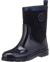 Tommy Hilfiger - Warmlined Suede Rain Boot - Lyst