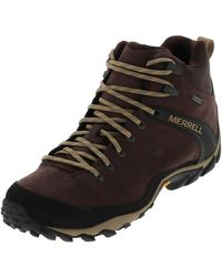 Merrell Cham 8 Ltr Mid Boat Shoe - Brown