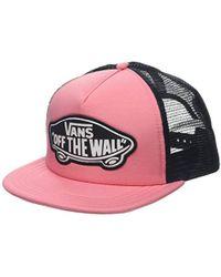 eac0bb8e5f Vans - Beach Girl Trucker Hat Baseball Cap - Lyst