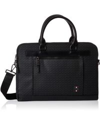 Tommy Hilfiger Laptop Bag 17? Anthracite - Black