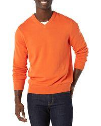 Amazon Essentials V-neck Jumper - Orange
