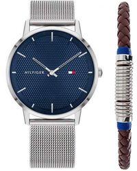 Tommy Hilfiger Analogue Quartz Watch With Stainless Steel Strap 2770060 - Metallic