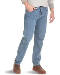 Wrangler Authentics Relaxed Fit Comfort Flex Waist Jean - Blue