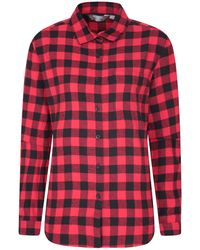 Mountain Warehouse Breathable Checked - Red