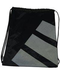 adidas Nike Tech Gym Bag Sack Pe Kit Drawstring - Black