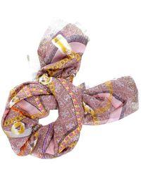 Guess Esme Printed Kefiah Scarf Cinnamon - Multicolore