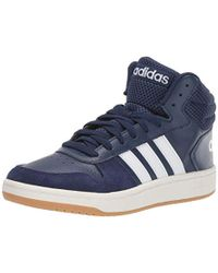86199072 adidas Cf Super Hoops Mid Men's Shoes (high-top Trainers) In Grey in ...
