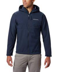 Columbia Ascender Hooded Softshell Jacket - Blue