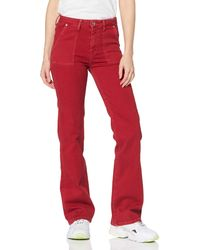 Pepe Jeans Erina Trouser, - Red