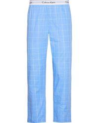 Calvin Klein Sleep Pant Schlafanzughose - Blau