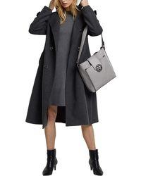 Esprit Accessoires 110ea1o322 Satchel Bag - Grey