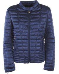 Guess Jeans W83l15-k7eu0-vona-jacket Jacket G7o1-blu Xl - Blue