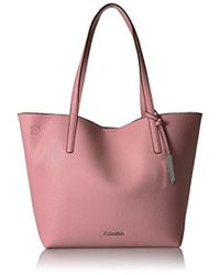 CALVIN KLEIN 205W39NYC - Unlined Novelty Chemtech Tote - Lyst
