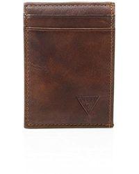 Guess - Naples Slim Front-pocket Wallet - Lyst