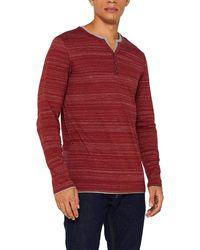 Esprit 099ee2k016 Long Sleeve Top - Red